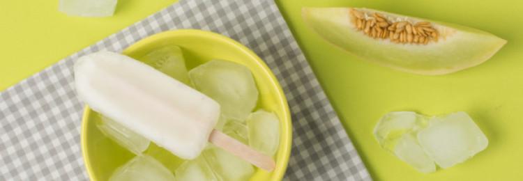 Как сделать дынное мороженое?