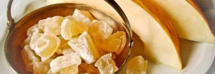 Как сделать дынные цукаты из мякоти и корок