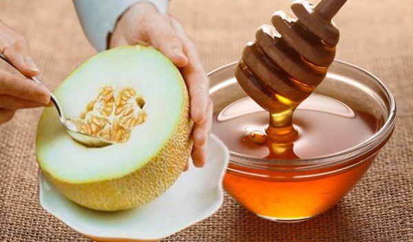 дыня с медом