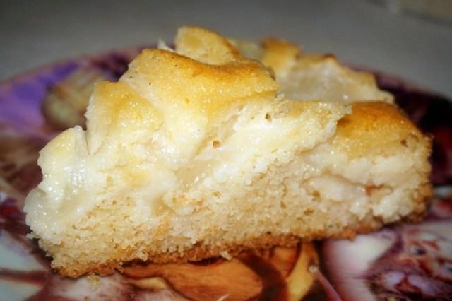 пирог с дыней