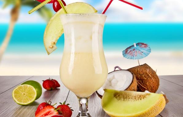 коктейль из дыни