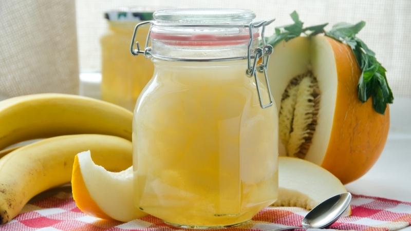 дыня на зиму с бананом