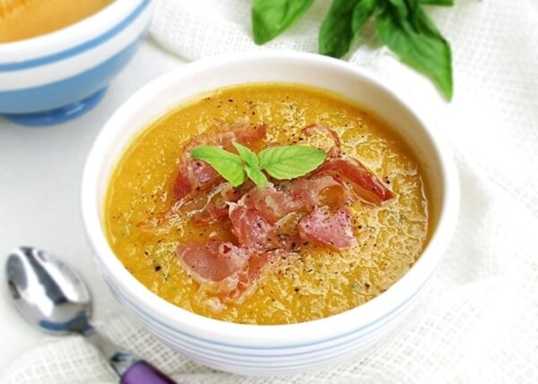 суп пюре дынный
