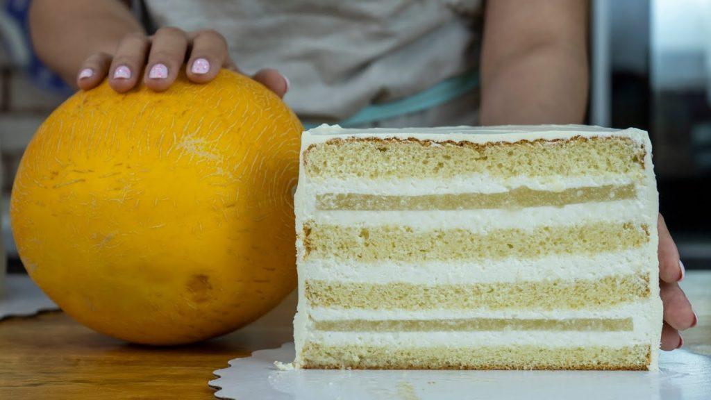 торт из дыни